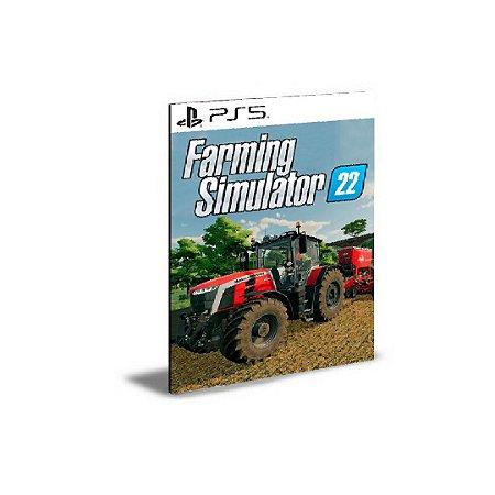 FARMING SIMULATOR 22 PS5 PSN MÍDIA DIGITAL