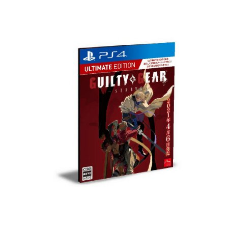 Guilty Gear -Strive- Ultimate Edition Ps4 Psn Mídia Digital