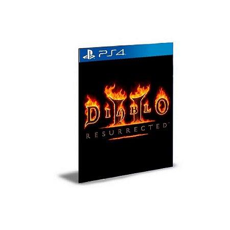 Diablo II Resurrected  Ps4 Psn Mídia Digital