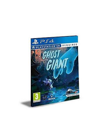 Ghost Giant Ps Vr Ps4 Psn Mídia Digital