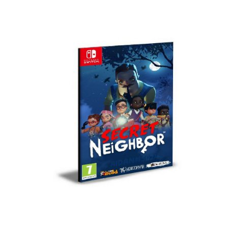 Secret Neighbor Português NINTENDO SWITCH Mídia Digital