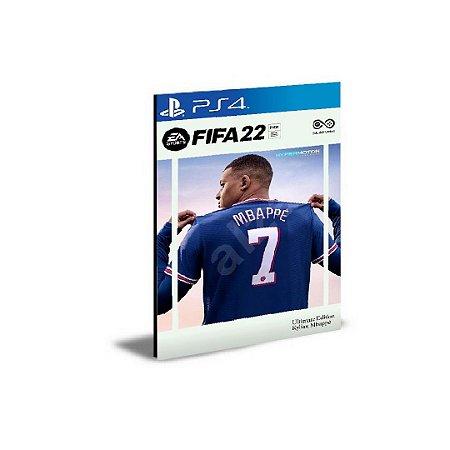FIFA 22 Ultimate Edition Português Ps4 Psn Mídia Digital