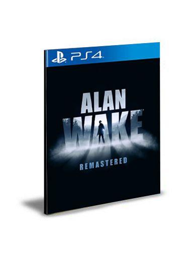 Alan Wake Remastered PS4 PSN Mídia Digital
