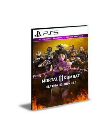 Pacote Dlcs Mortal Kombat 11 Ultimate Ps5 Psn Mídia Digital