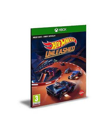 HOT WHEELS UNLEASHED Xbox Series X S  Mídia Digital