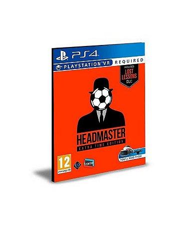 Headmaster Ps Vr Ps4 Psn Mídia Digital