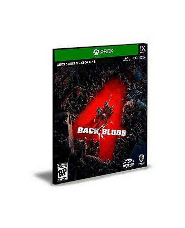 Back 4 Blood Português Xbox Series X|S  Mídia Digital