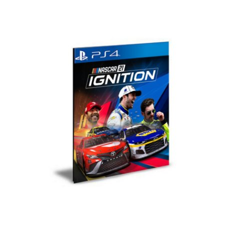 NASCAR 21 Ignition PS4 e PS5 PSN  MÍDIA DIGITAL  PRÉ-VENDA