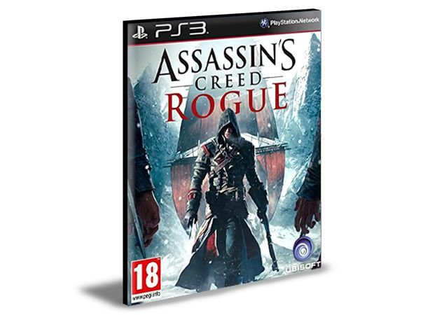 Assassins Creed Rogue   Ps3   Psn   Mídia Digital