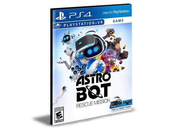 Astro Bot Rescue Mission Ps4 e Ps5  Psn  Mídia Digital