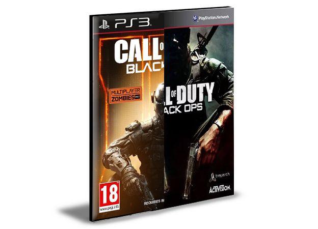 CALL OF DUTY BLACK OPS 3 + BLACK OPS 1 | PS3 |PSN | MÍDIA DIGITAL