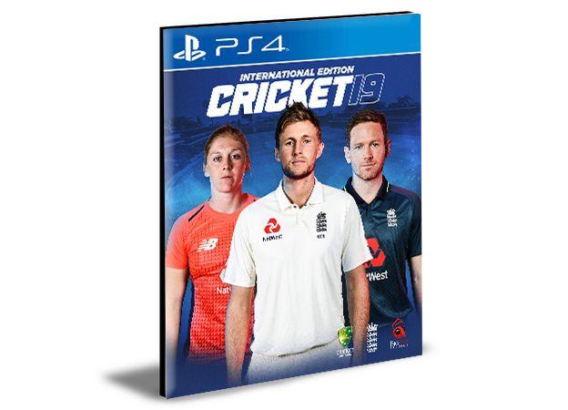 Cricket 19 Ps4 e Ps5 Psn  Mídia Digital