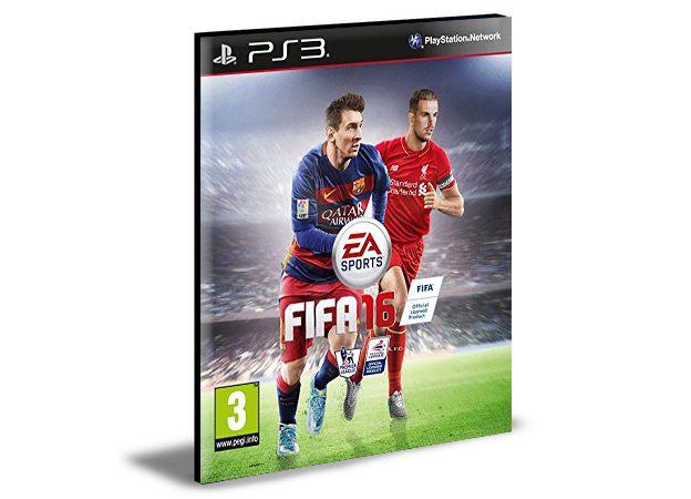 FIFA 16 | PS3 | PSN | MÍDIA DIGITAL