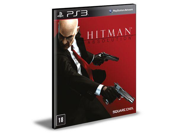 HITMAN ABSOLUTION PS3 PSN MÍDIA DIGITAL