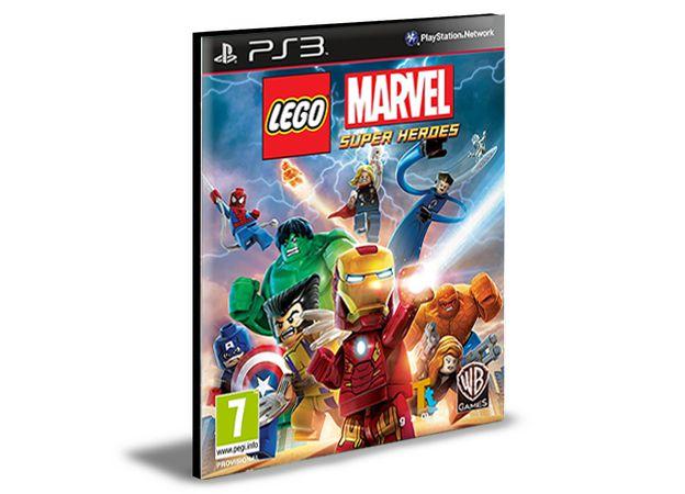 LEGO MARVEL SUPER HEROES | PS3 | PSN | MÍDIA DIGITAL