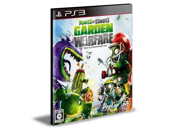 PLANTS VS ZOMBIES GARDEN WARFARE   PS3   PSN   MÍDIA DIGITAL