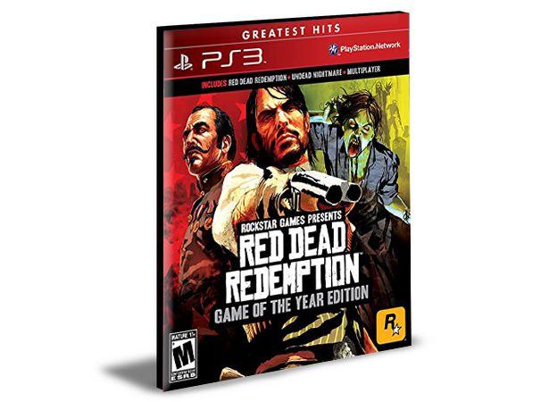 RED DEAD REDEMPTION + UNDEAD NIGHTMARE   PS3   PSN   MÍDIA DIGITAL