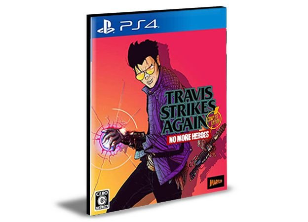 Travis Strikes Again: No More Heroes Complete Edition Ps4 e Ps5 Psn Mídia Digital