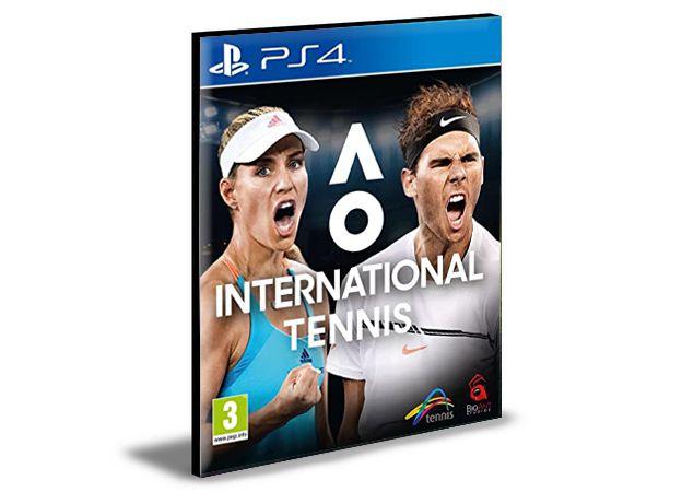 AO International Tennis Ps4 e Ps5 Mídia Digital