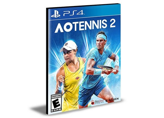 Ao Tennis 2 Ps4 e Ps5 Mídia Digital