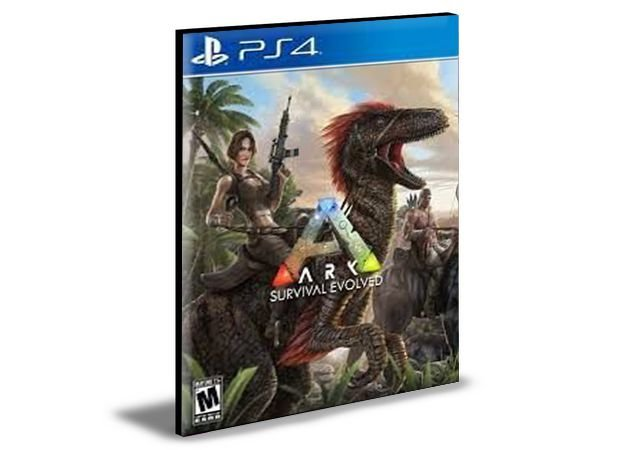 Ark Survival Evolved Ps4 e Ps5 Psn Mídia Digital