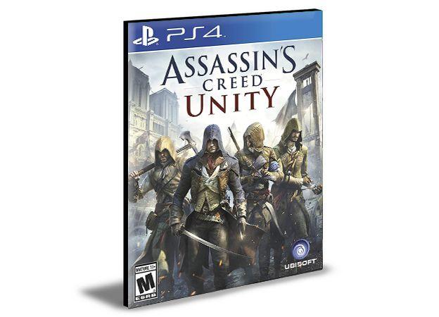 Assassins Creed Unity Ps4 e Ps5 Psn Mídia Digital
