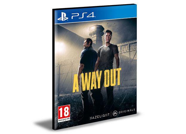A Way Out Ps4 e Ps5 Mídia Digital Psn