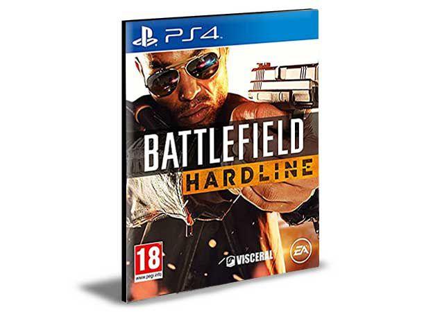 Battlefield Hardline  Português Ps4 e Ps5  Mídia Digital Psn