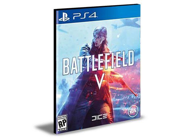 Battlefield V Ps4 e Ps5 Mídia Digital Psn