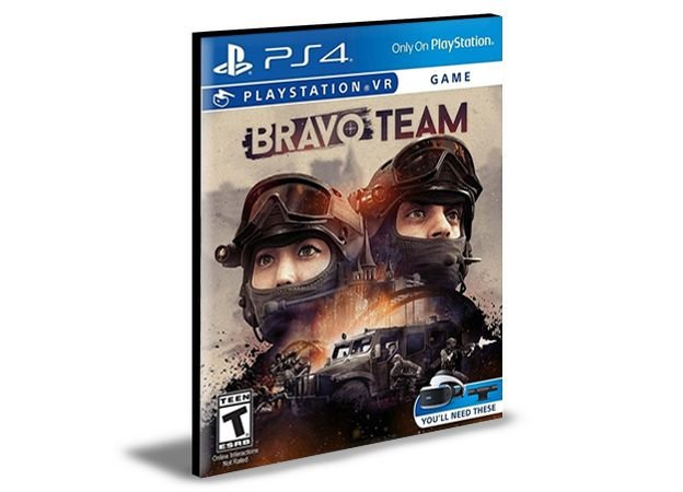 Bravo Team VR|Ps4 | Psn | Mídia Digital