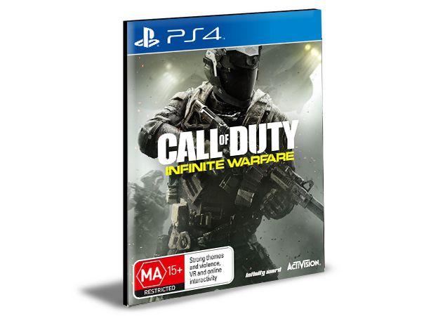Call Of Duty Infinite Warfare Ps4 e Ps5 Psn  Mídia Digital