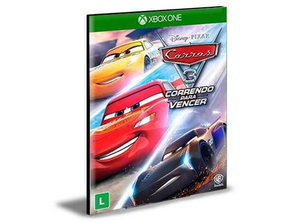 Carros 3 Correndo para Vencer Português  Xbox One e Xbox Series X S  Mídia Digital