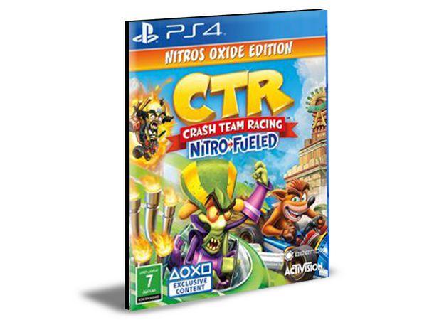 Crash Team Racing Nitro-Fueled  Português Ps4 e Ps5 Psn  Mídia Digital