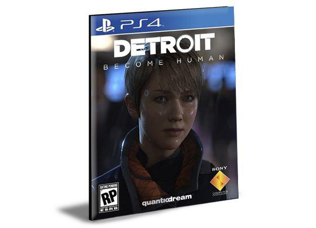 Detroit Become Human Ps4 e Ps5 Psn Mídia Digital