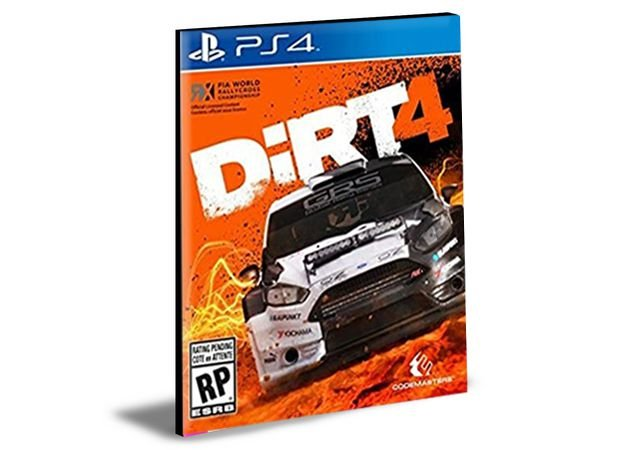 DIRT 4 PS4 e PS5 PSN MÍDIA DIGITAL