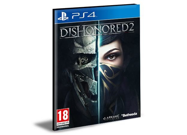 Dishonored 2  PS4 e PS5 PSN  MÍDIA DIGITAL