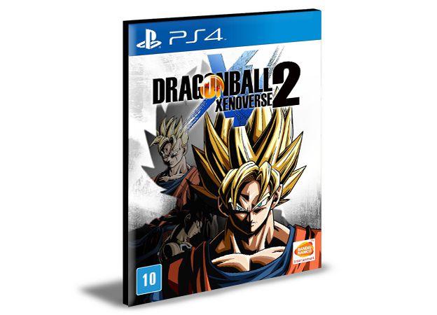 DRAGON BALL XENOVERSE 2 PORTUGUÊS  PS4 e PS5 PSN  MÍDIA DIGITAL