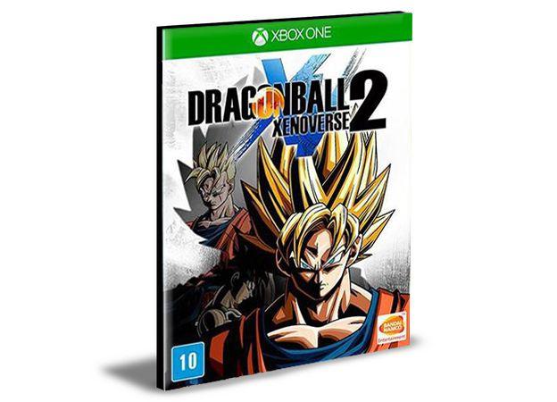 DRAGON BALL XENOVERSE 2  PORTUGUÊS Xbox One e Xbox Series X|S MÍDIA DIGITAL