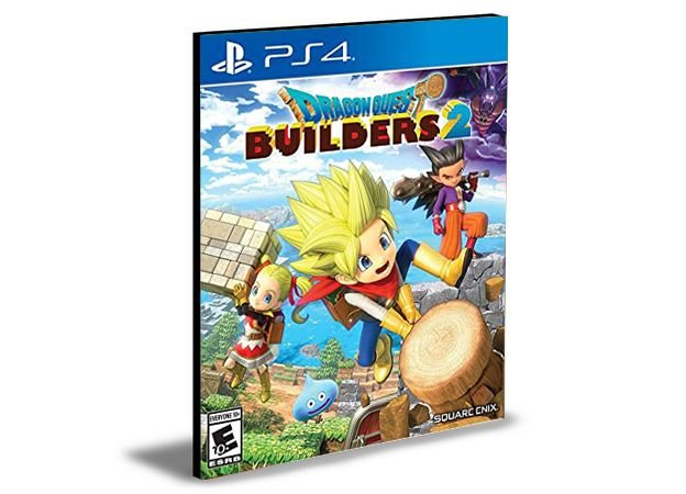 DRAGON QUEST BUILDERS 2 PS4 e PS5 PSN  MÍDIA DIGITAL
