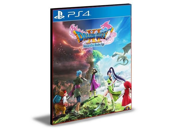 DRAGON QUEST XI Digital Edition of Light PS4 e PS5 PSN MÍDIA DIGITAL