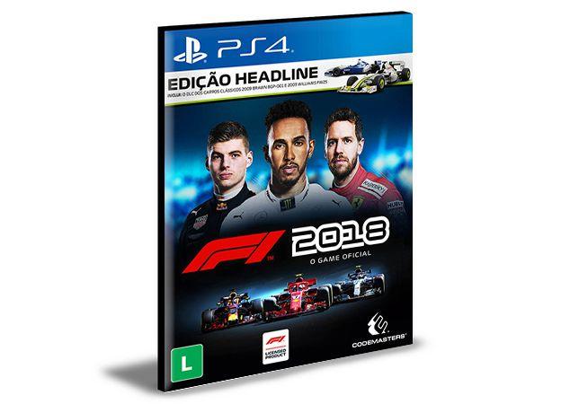 F1 2018 PS4 e PS5 PSN  MÍDIA DIGITAL