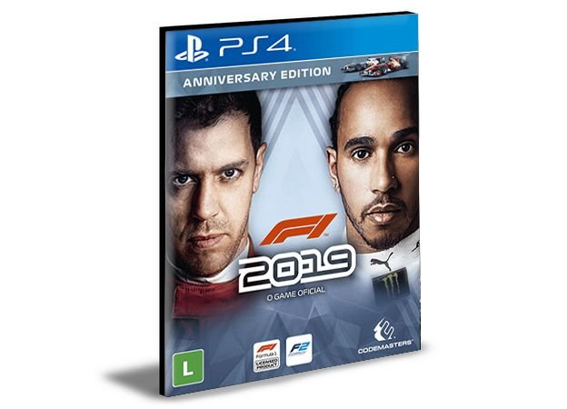 F1 2019 Português  PS4 e PS5 PSN  MÍDIA DIGITAL