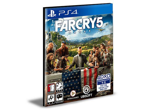 FAR CRY 5  PORTUGUÊS PS4 e PS5 PSN  MÍDIA DIGITAL