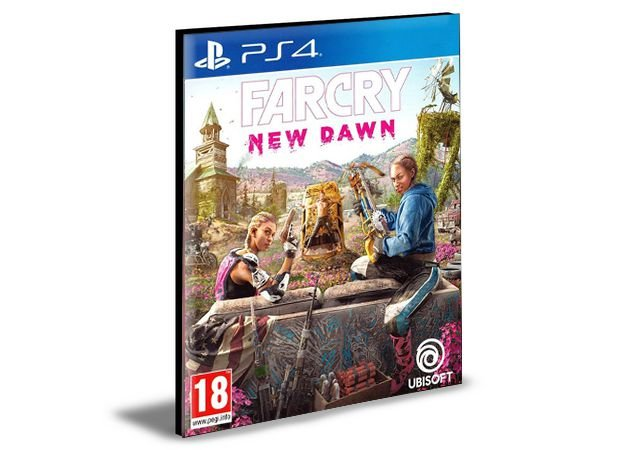 FAR CRY NEW DAWN  PORTUGUÊS  PS4 e PS5 PSN  MÍDIA DIGITAL