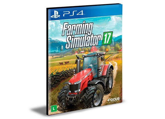FARMING SIMULATOR 17  PORTUGUÊS PS4 e PS5 PSN  MÍDIA DIGITAL