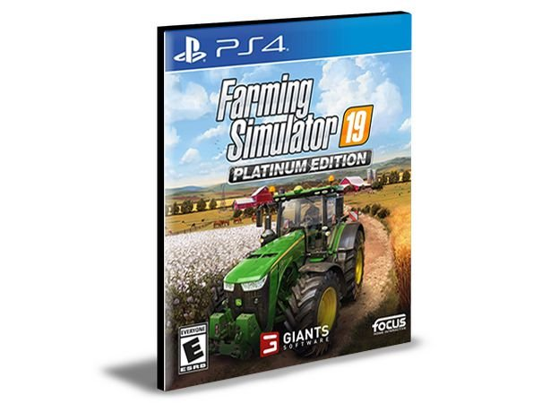 FARMING SIMULATOR 19 PS4 e PS5 PSN MÍDIA DIGITAL