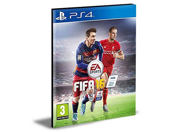 FIFA 16 | PS4 | PSN | MÍDIA DIGITAL