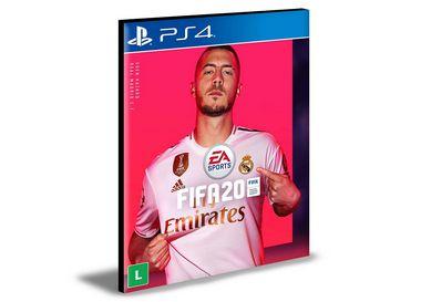Fifa 20  Português PS4 e PS5 PSN  MÍDIA DIGITAL