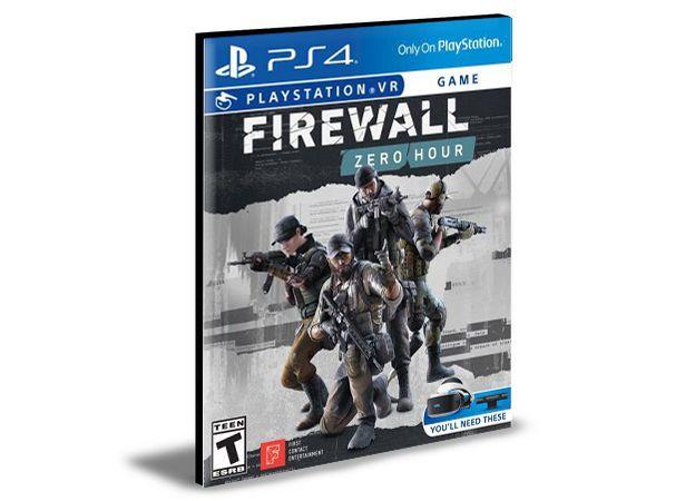 Firewall Zero Hour Vr  Ps4 e Ps5 Psn  Mídia Digital