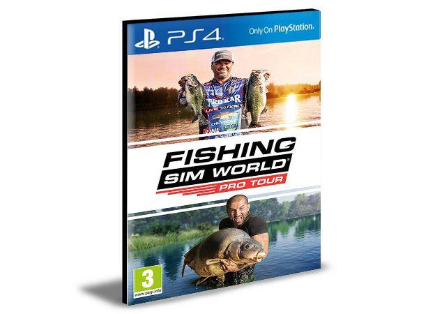 Fishing Sim World Pro Tour Ps4 e Ps5 Psn  Mídia Digital